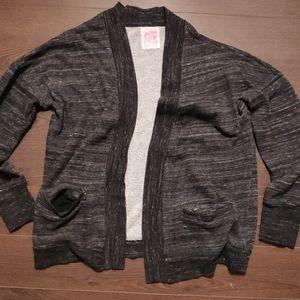 Ardene Sweatshirt Cardigan Dark Grey M/L